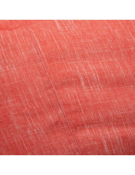 HOUSSE POUF SUNSET POLYESTER CORAL 70X110 CM