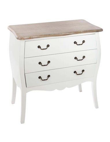 """Commode """"Chrysa"""" blanche"""